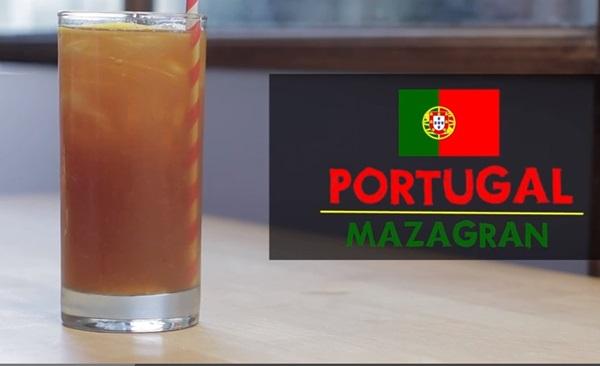 Mazagran là cà phê yêu thích của người dân Bồ Đào Nha