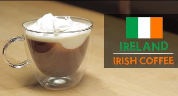 Nếu không uống được rượu bạn nên cẩn thận với cà phê irish của Ailen nhé, vì thức uống này ngoài cà phê còn có thêm chút rượu whisky nữa đấy.